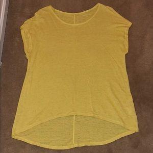 Eileen Fisher yellow top